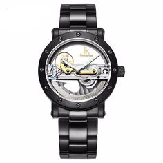 Men's Antique Hollow Skeleton Automatic Mechanical Watch