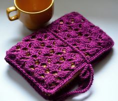 Crochet Lace Kindle, Nook, eReader Case by Brandy Velten
