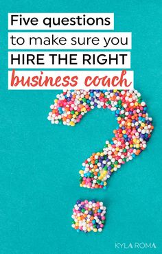 Want to hire a business coach, but don't know where to start? Ask these five simple questions to make sure your business coach is the right match for you. Business Advice, Business Planning, Online Business, Business Entrepreneur, Business Meme, Business Coaching, Business Quotes, Business Goals, Business School