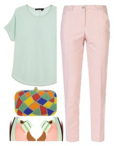 """spring"" by ecem1 ❤ liked on Polyvore featuring 360 Sweater, Pastel Pairs and Armani Jeans"