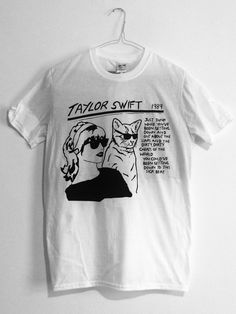 *Completely awesome* Taylor Swift/Sonic Youth T-shirt, £12.00 - if only I wore white...