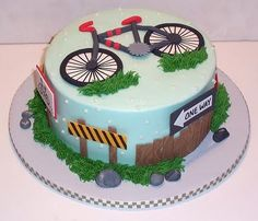 Bicycle Cake, love this!