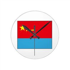 Chinese Air Force Round Clock