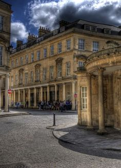 To the right is the Cross Bath, no way near as fancy as the Thermae SPA opposite the street but still exquisite.