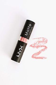 NYX Matte Lipstick in Pretty In Pink