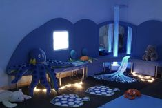 Sensory Room- LOT's of pic for ideas.