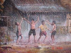 Ayo Hujan-hujanan