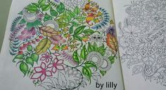 Está quase lá!!!! Mandala coruja Floresta encantada/ jardim secreto /inspiração colorir