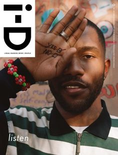 Must Read: Frank Ocean Covers 'i-D' Magazine, How Harvey Weinstein Used His Fashion Connections to Victimize Models Tommy Genesis, Id Magazine, Magazine Covers, Magazine Design, Fashion Connection, Camisa Vintage, Tiffany & Co., Ted, Ocean Wallpaper