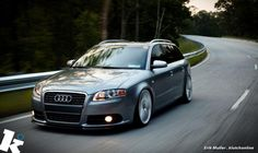 A4 Wagon. There is NO EXCUSE for buying a mini-van. Period. (you can get bigger wagons like the A6.) Audi...beautifying roads everywhere.