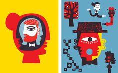 Nearchos Ntaskas — Frank Sturges Reps Dots Design, Polka Dots, Faces, Posters, Group, Drawings, Illustration, Art, Illustrations