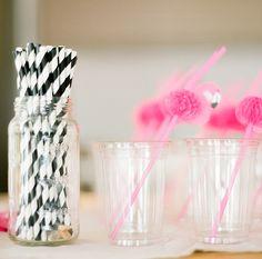 Adorable flamingo straws: | 100 Layer Cakelet
