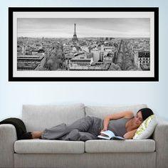 Vinilos Decorativos: Skyline de París #parís #ciudad #decoración #pared #TeleAdhesivo Skyline, Adhesive, Vinyls, Home Decoration, Cities, Fabrics