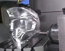 5 Axis Robot Carves Metal Like Butter (Video)