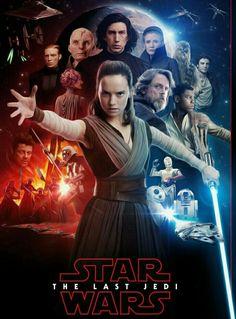 Star Wars: The Last Jedi fan poster