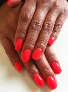 Stroll the streets with this new Neon Bio Sculpture Gel colour #104 - Sweet Melon Fluro!