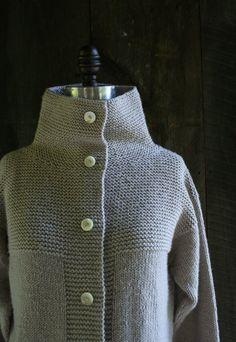 Purl Soho Cardigan Coat + Vest | Purl Soho - Create