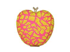 Hot Pink Apple Shaped Sequins Clutch #Ekatrra #Handbag #Clutch #Purse #Embroidered #Partywear #Collection #Womenwear #Fancy #Fashion #Follow #Gift #Love #Indaindesigner #Traditional #Stepintostyle #Stepintoawesome Shop Now: http://bit.ly/1QTIgm4
