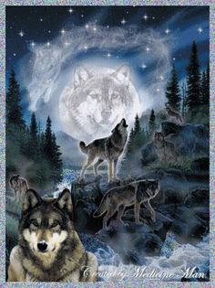 Many who follow the Great Spirit view the Wolf Spirit as our brother. Description from http://sodahead.com. I searched for this on bing.com/images