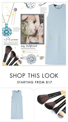 """""""BFF"""" by mycherryblossom ❤ liked on Polyvore featuring Theory, Accessorize, BestFriends, polyvoreeditorial, polyvorestyle and totwoo"""