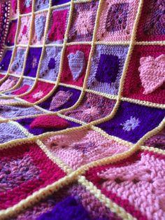 Valentine themed blanket