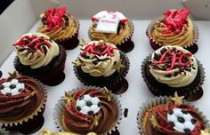 Liverpool Echo, the very latest Liverpool and Merseyside news, sport, what's on, weather and travel. Plus the latest Liverpool FC and Everton FC news. Liverpool Cake, Liverpool Football Club, Football Cakes, Happy Birthday Cupcakes, Everton Fc, Themed Cakes, Cupcake Cakes, Birthday Ideas, Desserts