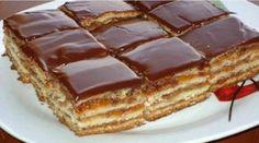 Oříškový dort s luxusním marmeládovým krémem a čokoládovou polevou – připravený už za 30 minut!