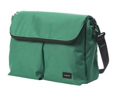 """Baby Center review: 5 Stars for Bumbleride diaper bag. """"This gender-neutral gem could carry parents through several children and beyond."""""""