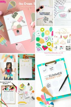 Free Summer Printables via Heart Handmade UK