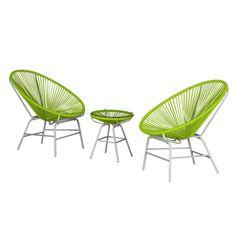 Sitzgruppe Copacabana I (3-teilig) - Kunststoff - Grün / Weiß, Fredriks Jetzt bestellen unter: https://moebel.ladendirekt.de/garten/gartenmoebel/loungemoebel-garten/?uid=28137cab-dd12-5027-94f3-57d36e3c33aa&utm_source=pinterest&utm_medium=pin&utm_campaign=boards #fredriks #loungemoebelgarten #garten #gartenmoebel #gartenmöbel #loungemöbel