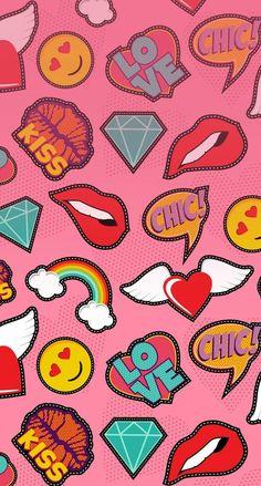 Pop Unicornios Wallpaper, Cute Wallpaper Backgrounds, Pattern Wallpaper, Cute Wallpapers, Art Pop, Tumblr Iphone, Digital Scrapbook Paper, Boxing Day, Christian Wallpaper