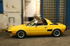 Yep, the most interesting cars in the world. — Fiat X a Bertone design - a baby Lambo, it´s. Fiat X19, Porsche 914, Mazda, Fiat Spider, Fiat Cars, Fiat Abarth, Yellow Car, Steyr, Small Cars