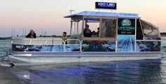 Punta Gorda Florida - ride the H2O Limo for the ultimate family beach tour to Cayo Costa or Cabbage Key.