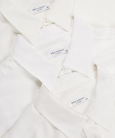 The white shirt = the ultimate closet staple.
