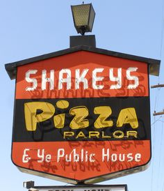 """We serve fun at Shakeys..also pizza!"""