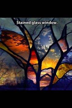 Transfer photos to glass then assemble as stain glass window  This needs to be a thing in my house!