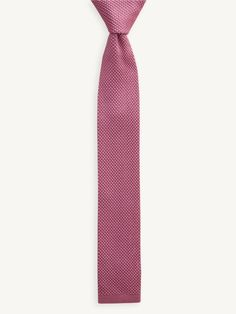 Rose Knitted Tie - £16.00 - Hawkins and Shepherd
