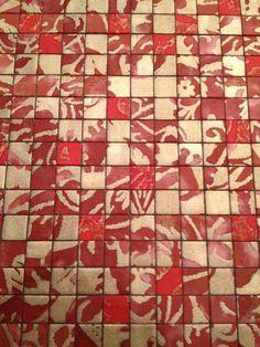 Fortuny mosaic wall panels