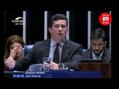 Sérgio Moro arrasa Renan e desmonta sua lei no Senado