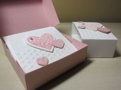 Thank you cards and box