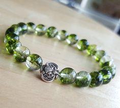 Elephant Phantom Quartz Bracelet Green Phantom Quartz