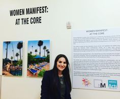 So we have two new exhibits installed in the #weholibrary including one of art by women's artists #wehoarts