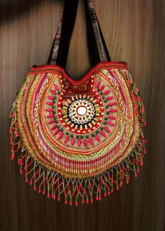 Reserve for kim 2 of bags// Fringe purse bag // tribal // ethnic // boho… Hippie Bags, Boho Bags, Ethno Design, Gypsy Bag, Work Handbag, Carpet Bag, Fringe Purse, Fabric Bags, Cute Bags