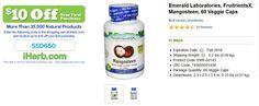 Emerald Laboratories, FruitrientsX, Mangosteen, 60 Veggie Caps   http://iherb.com/Emerald-Laboratories-FruitrientsX-Mangosteen-60-Veggie-Caps/5653