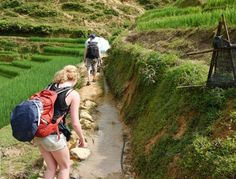 Sapa trekking tours with people ethnic minority