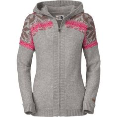 The North Face® Women's Tanacross Cardigan Hoodie at Cabela's. This is so cute!