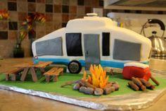 Pop-up Camper Cake!