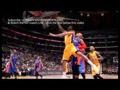 LA Lakers vs Detroit Pistons Live Stream 2015 | NBA Online | Today, 6:00...