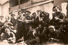 Maquisards du Bataillon de Marche Néracais à Ambrus.