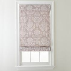 jcpenney.com | Royal Velvet® Damask Roman Shade